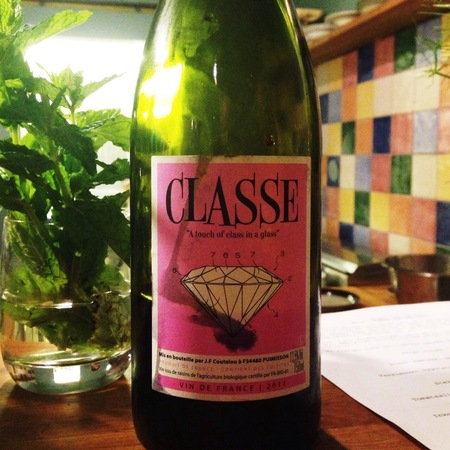 """Mas Coutelou (Jean François Coutelou) Classe """"A Touch of Class in a Glass"""" Grenache Blend 2015 (1500ml)"""