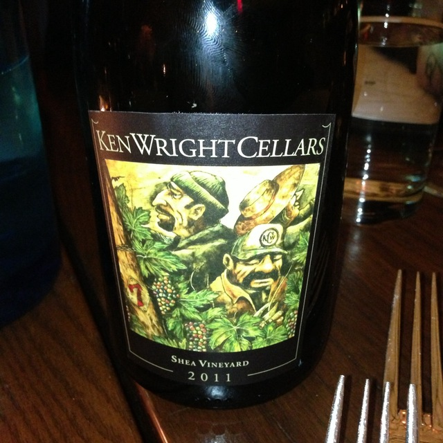 Ken Wright Cellars Shea Vineyard Pinot Noir 2015
