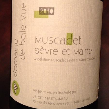 Domaine de Belle Vue Muscadet de Sèvre-et-Maine Melon de Bourgogne 2015