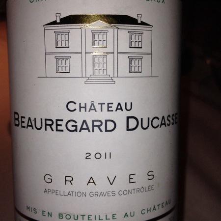 Château Beauregard Ducasse Graves Blanc White Bordeaux Blend 2015