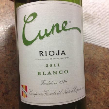 C.V.N.E. (Compañía Vinícola del Norte de España) Blanco Rioja Viura 2014