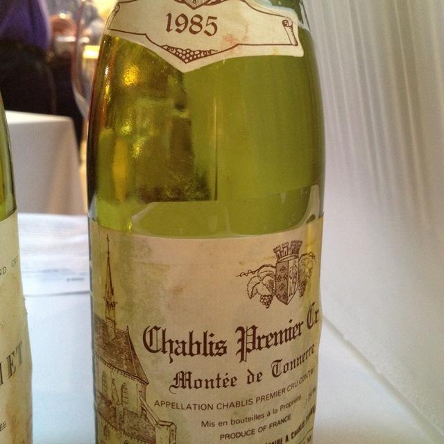 Domaine François Raveneau Montée de Tonnerre Chablis 1er Cru Chardonnay 1985