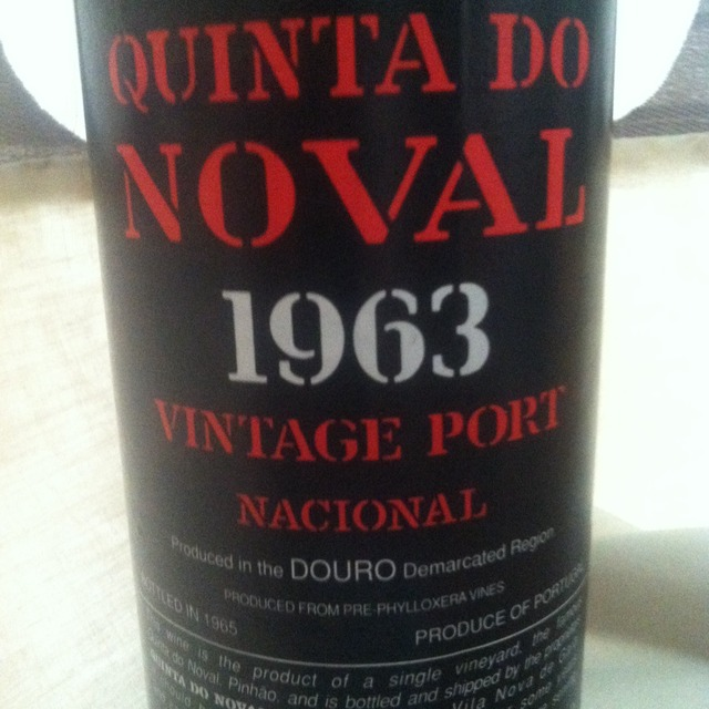 Quinta do Noval Vintage Port Nacional  2007