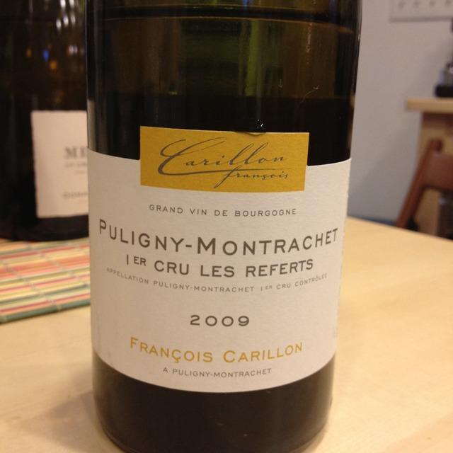 Les Referts Puligny-Montrachet 1er Cru Chardonnay 2013