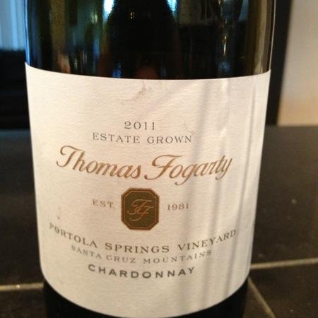 Thomas Fogarty Portola Springs Vineyard Chardonnay 2011