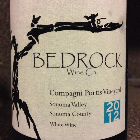 Bedrock Wine Co. Compagni Portis Vineyard Heirloom  Sonoma Valley White Blend 2014