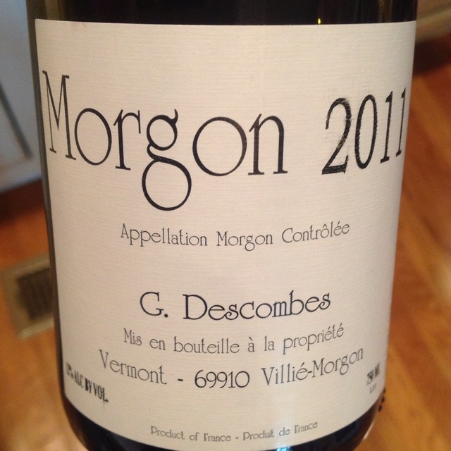 Morgon Gamay 2011