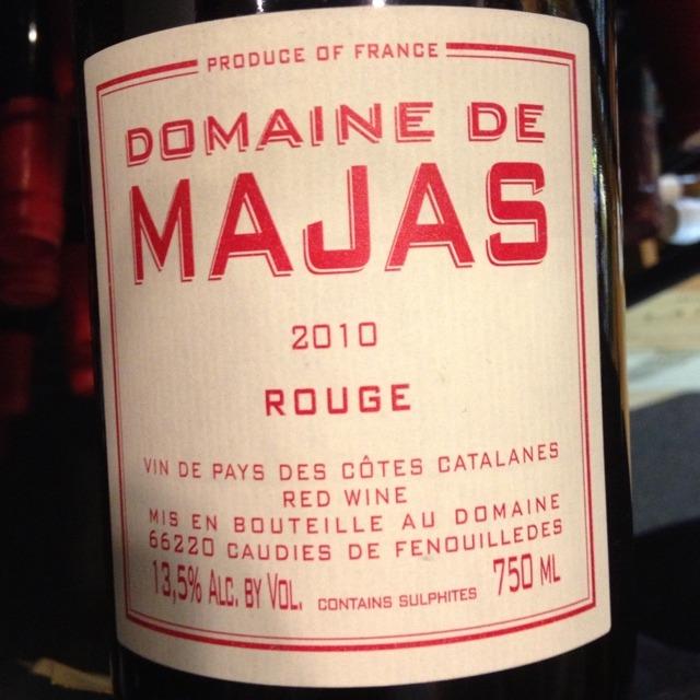 """""""Rouge"""" Côtes Catalanes Grenache Carignan 2014"""