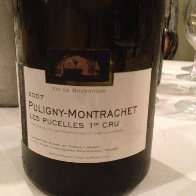 Domaine Morey-Coffinet Les Pucelles Puligny-Montrachet 1er Cru Chardonnay 2009
