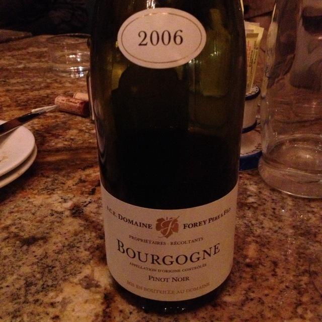 Bourgogne Pinot Noir 2001 (1500ml)