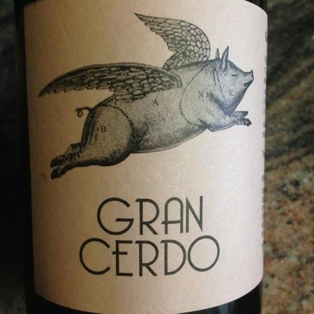 Gonzalo Gonzalo Gran Cerdo Rioja Tempranillo