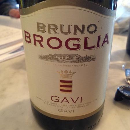 Broglia Bruno Broglia Gavi 2014