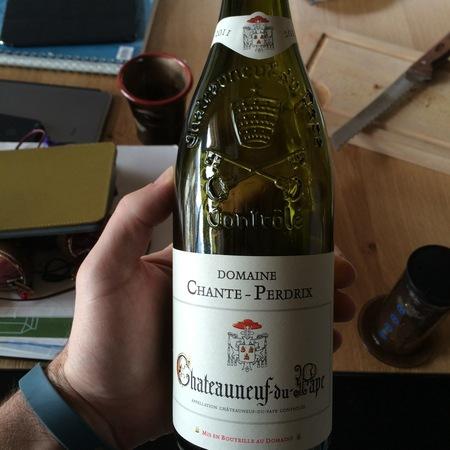 Domaine Chante-Perdrix Blanc Châteauneuf-du-Pape White Rhone Blend 2014