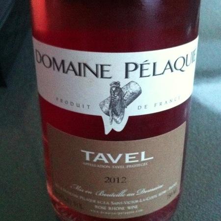 Domaine Pélaquié Tavel Rosé Blend 2016