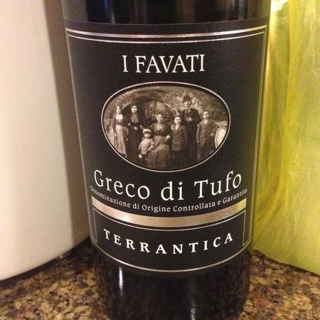 I Favati Terrantica Greco di Tufo White Blend 2013