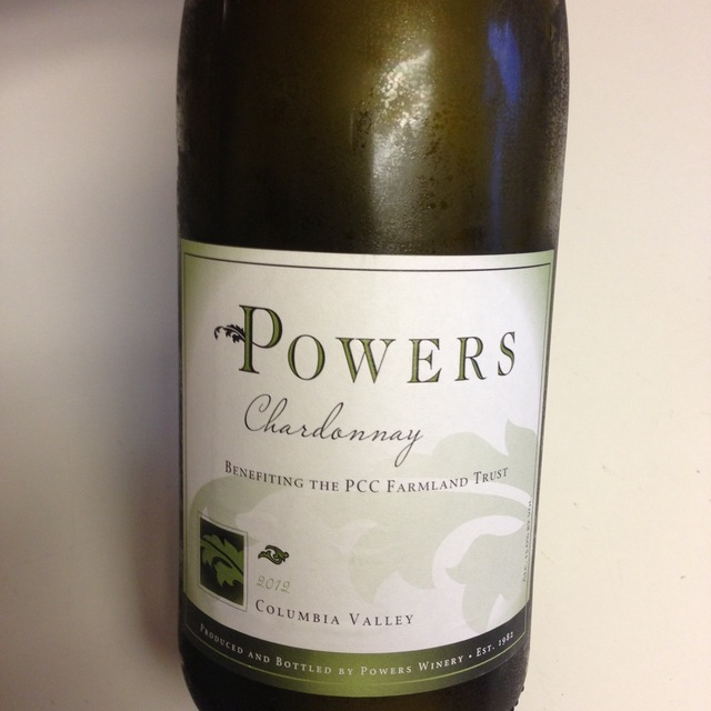 Powers Columbia Valley Chardonnay 2015 (3000ml)