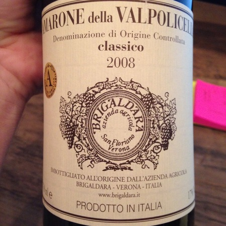 Brigaldara Amarone della Valpolicella Classico Corvina Blend 2014