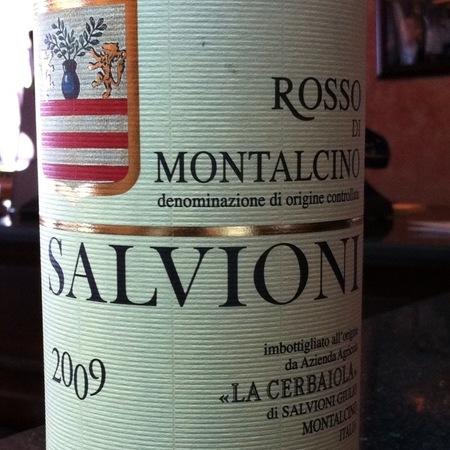 La Cerbaiola di Salvioni Giulio Rosso di Montalcino Sangiovese 2014