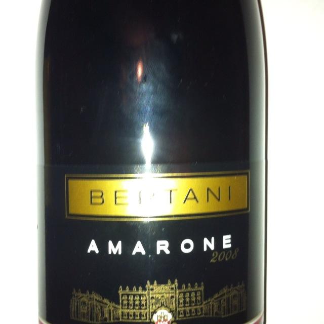Bertani Amarone Corvina Blend 2007