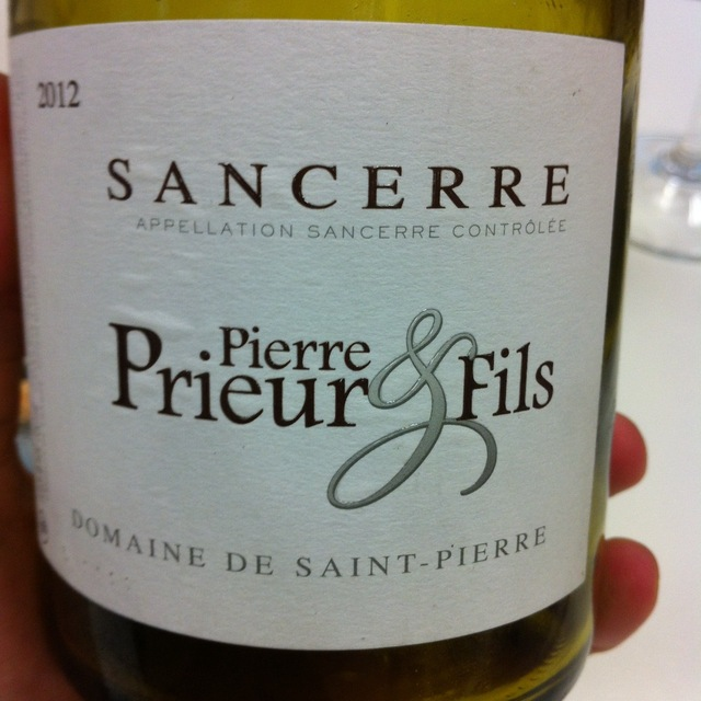 Domaine de Saint-Pierre Sancerre Sauvignon Blanc 2015