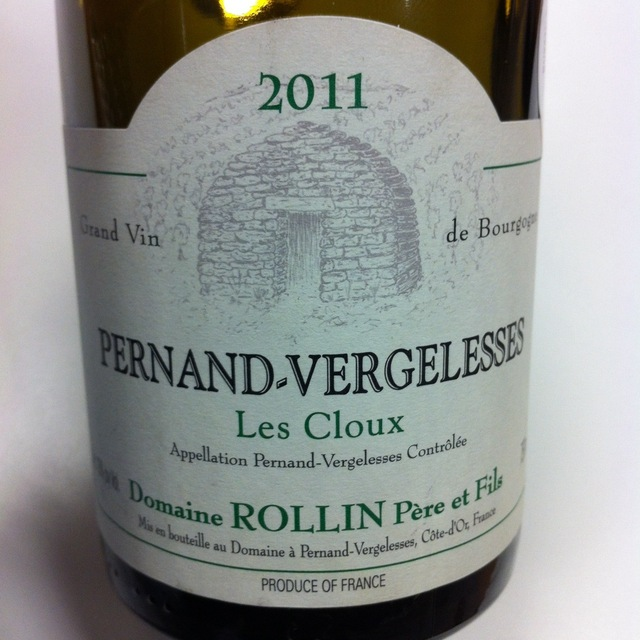 Les Cloux Pernand-Vergelesses 1er Cru Chardonnay 2013