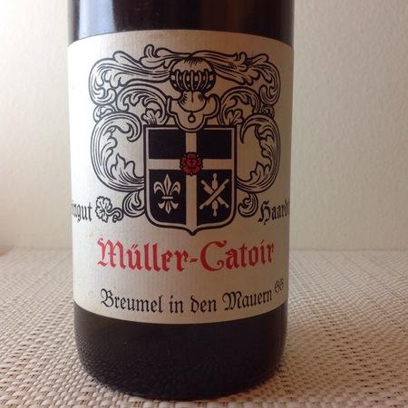 Müller-Catoir Müller Catoir Haardter Bürgergarten  Riesling 2004