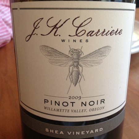 J.K. Carriere Shea Vineyard Pinot Noir 2013