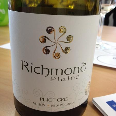 Richmond Plains Pinot Gris 2014