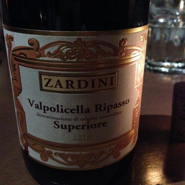 Pietro Zardini Ripasso Valpolicella Superiore Corvina Blend 2014