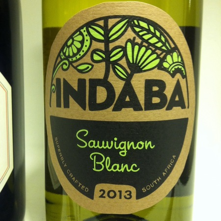 Indaba Western Cape Sauvignon Blanc 2016