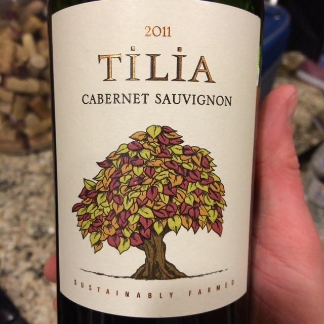 Tilia Mendoza Cabernet Sauvignon 2015