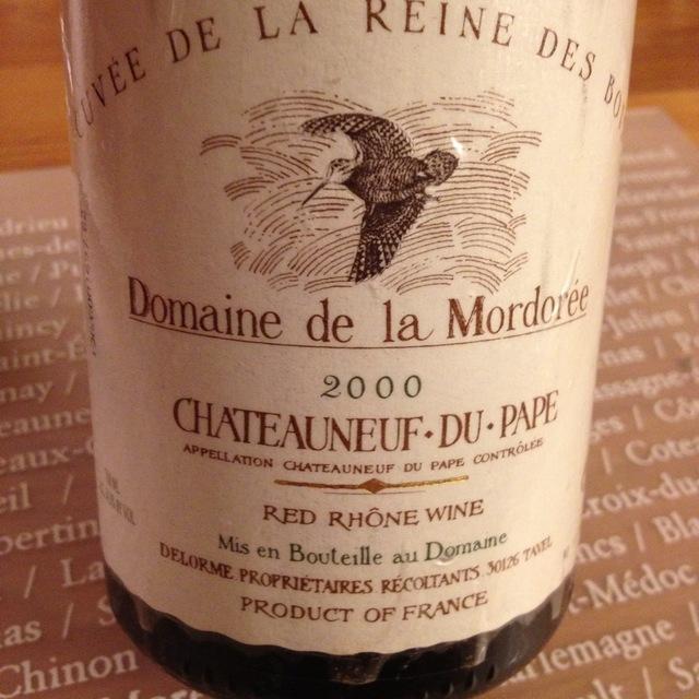 Domaine de la Mordorée La Reine des Bois Châteauneuf-du-Pape Red Rhone Blend 2000 (1500ml)