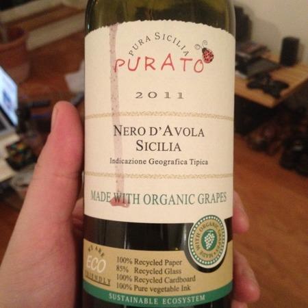Feudo di Santa Tresa Purato Terre Siciliane Nero d'Avola 2015