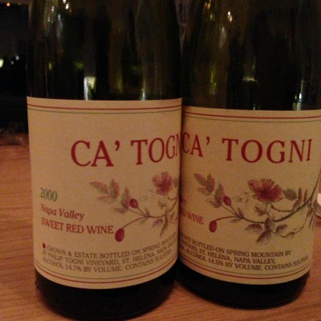 Philip Togni Vineyard Ca' Togni Black Muscat 2008 (375ml)