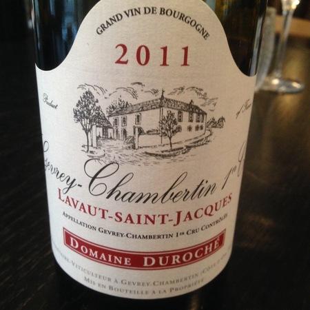Domaine Duroche Lavaut Saint-Jacques Gevrey-Chambertin 1er Cru Pinot Noir 2015