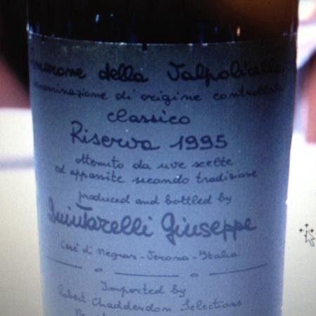 Giuseppe Quintarelli Riserva Amarone della Valpolicella Classico Corvina Blend 2007
