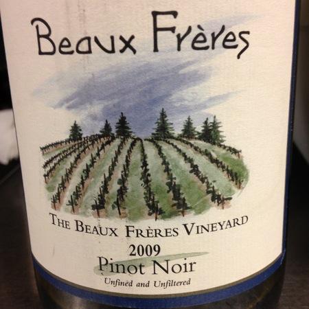 Beaux Frères The Beaux Frères Vineyard Pinot Noir 2009