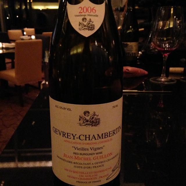 Jean-Michel Guillon Vieilles Vignes Gevrey-Chambertin Pinot Noir 2014 (750ml 12bottle)