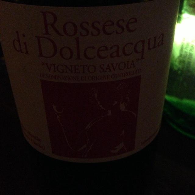 Vigneto Savoia Rosso di Dolceacqua Rossese 2014