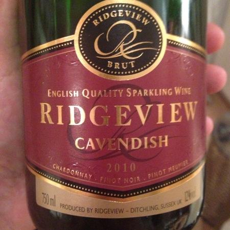 Ridgeview Cavendish Brut Chardonnay Blend 2013