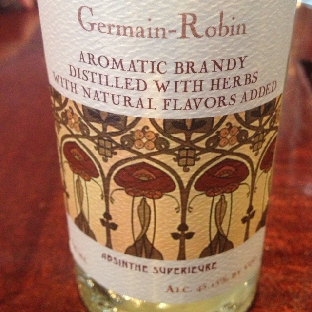 Germain-Robin Germain-Robin Aromatic Brandy Absinthe Superieure NV (375ml)