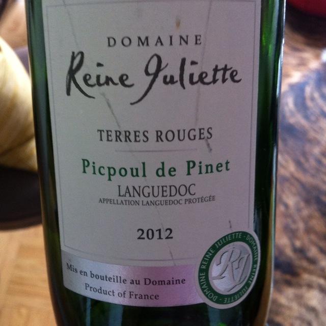 Coteaux du Languedoc Terres Rouges Picpoul-de-Pinet Picpoul Blanc 2015