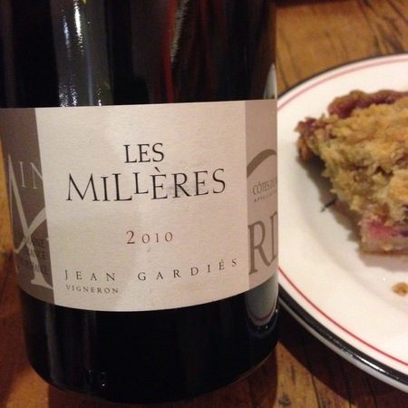 Domaine Gardiés Les Millères Côtes du Roussillon Villages Grenache Blend 2015