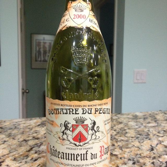 Domaine du Pegau Cuvée Réservé Châteauneuf-du-Pape Red Rhone Blend 2000