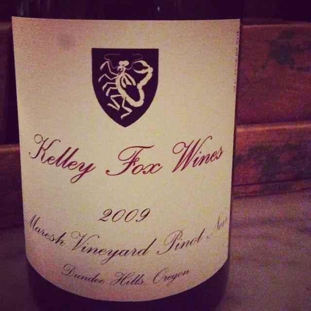 Kelley Fox Wines Maresh Vineyard Pinot Noir 2013