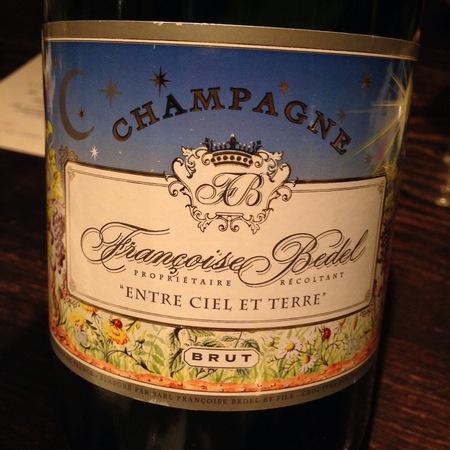 Francoise Bedel Entre Ciel et Terre Brut Champagne Blend NV
