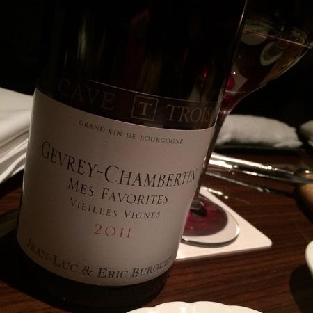Domaine Alain Burguet Cuvée Mes Favorites Vieilles Vignes Gevrey-Chambertin Pinot Noir 2011