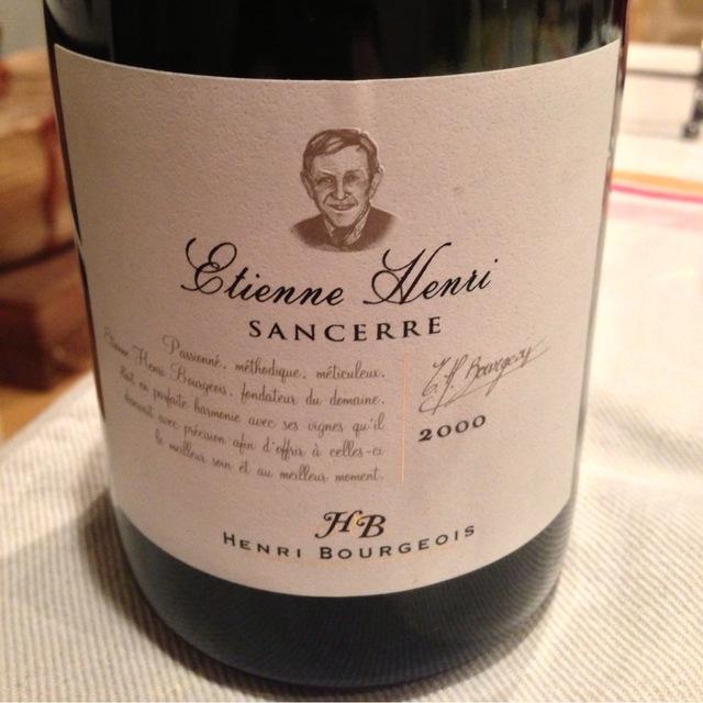 Henri Bourgeois Etienne Henri Sancerre Sauvignon Blanc 2013