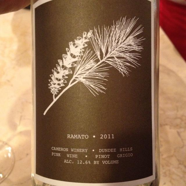 Abbey Ridge Vineyard Ramato Pinot Grigio 2015