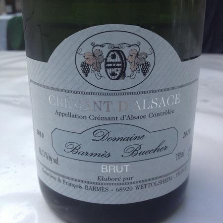 Domaine Barmes-Buecher Brut Crémant d'Alsace White Blend 2014